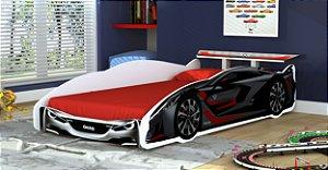 Cama Solteiro infantil Carros V8