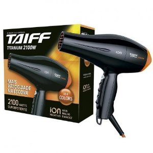 Secador de Cabelo Titanium 2 velocidades 2100W - Taiff