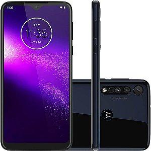 Smartphone Motorola Moto One Macro Azul