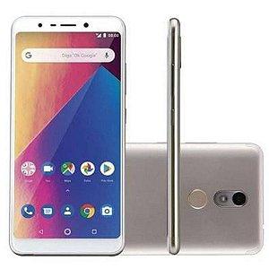 Smartphone Multilaser MS60X Dourado