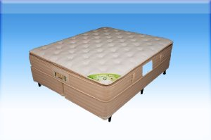Colchão com Base Box de Casal 138 cm Vitalle VJOY