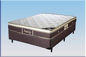 Colchão com Base Box de Casal 138 cm Supreme VJOY