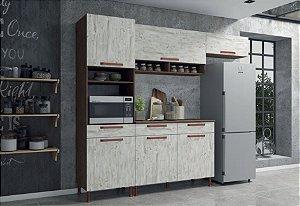 Cozinha Modulada 4 Peças Gold Indekes - Com Tampo