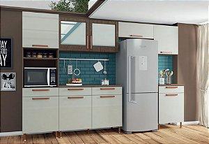 Cozinha Modulada 6 Peças Gold Indekes - Com Tampo