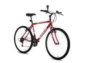 Bicicleta Aro 26 Foxer Hammer Vermelha FX26H2Q - Houston