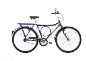 Bicicleta Aro 26 Super Forte Azul SF26V1M - Houston