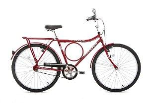 Bicicleta Aro 26 Super Forte Vermelha SF26V2M - Houston
