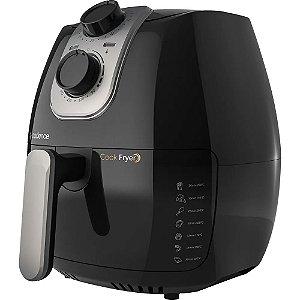Fritadeira Elétrica Cadence Cook Fryer Preta