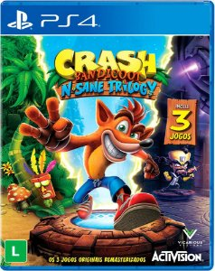 Game Ps4 Crash Bandicoot