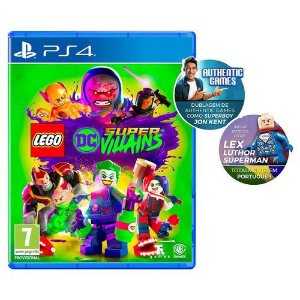 Game Ps4 Lego Dc Super Villians Ed Especial