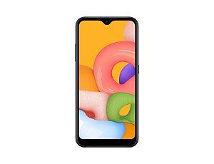 Smartphone Samsung Galaxy A01 Preto