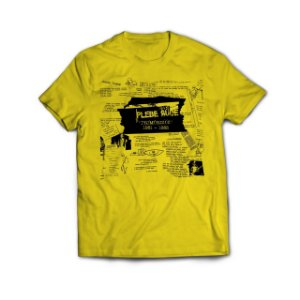 Camiseta Primórdios Amarela