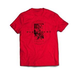 Camiseta Evolução Vermelha