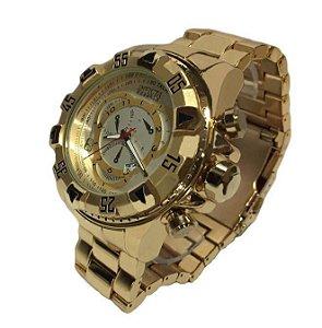 Invicta Dourado pulseira Dourada
