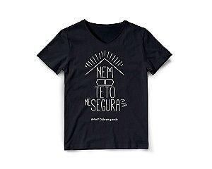 Camiseta Nem o teto me segura