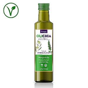 OLICHIA - Azeite Premium de Chia e Oliva - Sabor Manjericão - Garrafa 250ml
