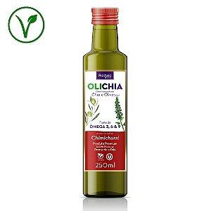 OLICHIA - Azeite Premium de Chia e Oliva - Sabor Chimichurri - Garrafa 250ml