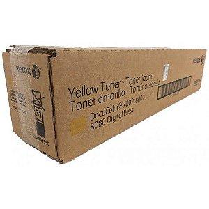 Toner Xerox Original Amarelo 006R01556/6R1556 Docucolor 7002 8002 8080
