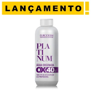 Água Oxigenada 40vol. Platinum Euroderm 90ml