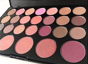 Paleta de Sombras e Blushs - Bh Cosmetics