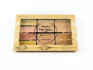 Paleta de Corretivo The Skill of Beauty - Ruby Rose