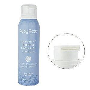 Sabonete Mousse Facial de Limpeza Nuvens de Algodão 140g - Ruby Rose