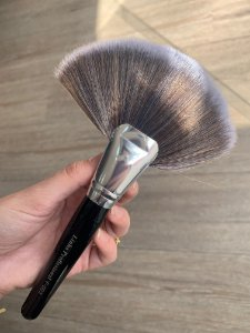 Pincel Leque Duo Fiber- Grande F-003- Powder Brush