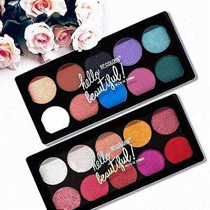 Paleta de Sombra Helo Beatiful - SP Color