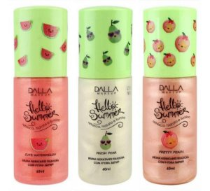 Bruma Hidratante E Fixadora Hello Summer - Dalla Makeup