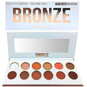Paleta de Sombras Bronze - Bellafemme