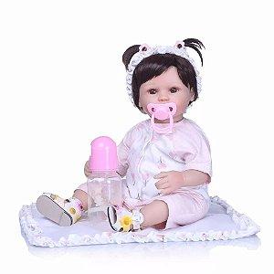 a8c4e492b3 Boneca Bebê Reborn Menina Realista ANA LETÍCIA - Doce Criança ...