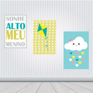 Placas Decorativas : Infantil
