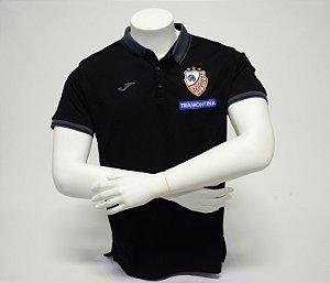 Camisa Pólo Preta Piquet