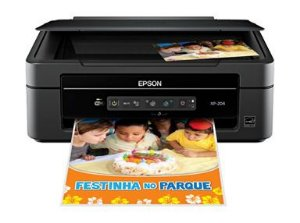 Multifuncional Epson Xp 204 -sem Cartuchos-liga Normal**wifi