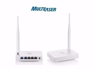 ROTEADOR MULTILASER 150MBPS WIRELESS N/G/B 2.4GHZ