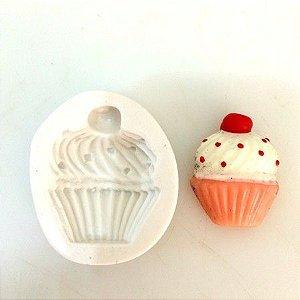 Molde Cupcake com cereja 4cm 304