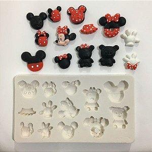 Molde Variado Mickey e Minnie 604