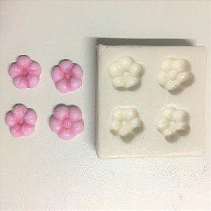 Molde 4 Flores 962