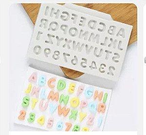 Molde Miniatura Alfabeto 2037