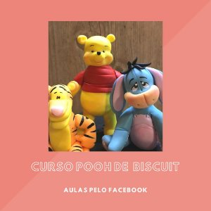 Curso de Biscuit Turma do Pooh