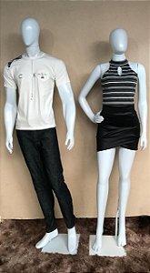 Camiseta Masculina Branca Calvin Klein Com Bolso - Calça Jeans Masculina  Preta - Regata Feminina Listrada 803a080f424