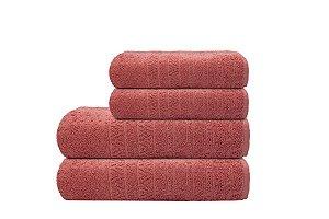 Toalha de Banho Matrix Vinho Camesa 70x140cm 100%algodão