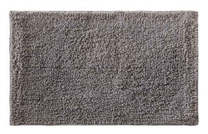Tapete para Banheiro Victoria Attuale 60 x 40cm Cinza