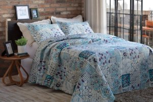 Colcha Matelasse Patchwork Bouti London Chealse 02