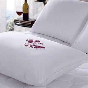 Protetor de Travesseiro Impermeável 50x70 cm Protect Care