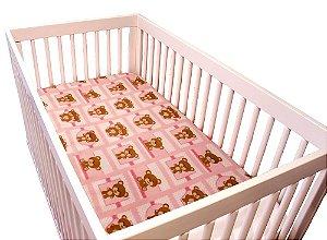 Manta Soft Bebe Menina Rosa Pelúcia 80x110cm Camesa