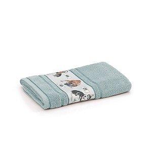 Toalha de Banho Infantil Menino Bob Azul Karsten 67x135cm