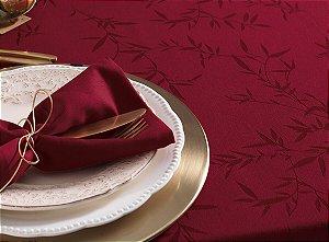 Toalha de Mesa Redonda Karsten Celebration Verissimo Vermelha 178x0