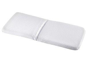 Colchonete para Moisés Baby 80x32x05cm Anti Sufocante com Capa Íons de Prata Anti Bactericida Fibrasca