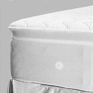 Pillow Top Para Colchão Drytop 140x190 Casal Fibrasca com Íons de Prata Anti Bactericida